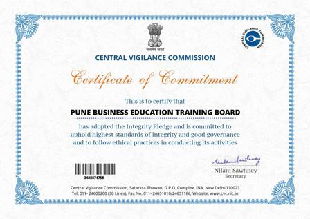 V G Certificate
